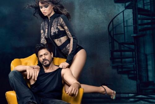 SRK Vogue PhotoShoot with Victoria's Secret supermodel 06