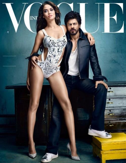 SRK Vogue PhotoShoot with Victoria's Secret supermodel 02