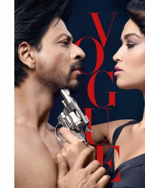 SRK Vogue PhotoShoot with Victoria's Secret supermodel 01