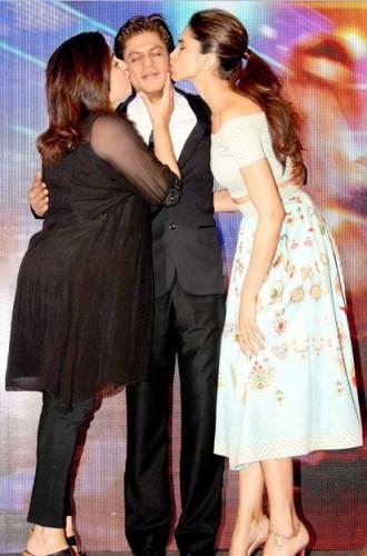 Deepika Padukone & Shahrukh Khan