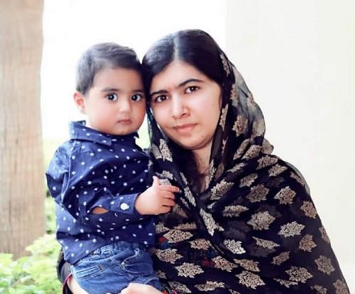 Malala Yousafzai and Abram khan