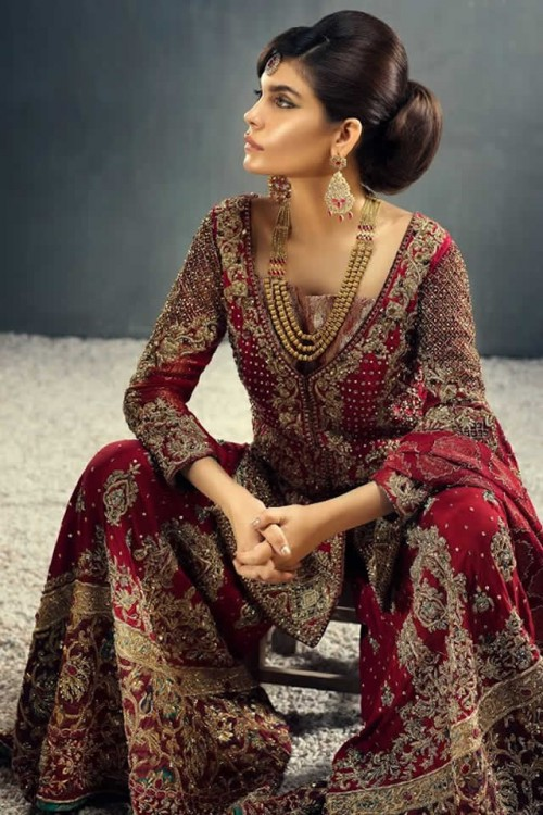 TEENA By Hina Butt Bridal Dresses 2015 01
