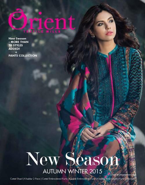 Orient Textiles Autumn/Winter 2015 Collection 01