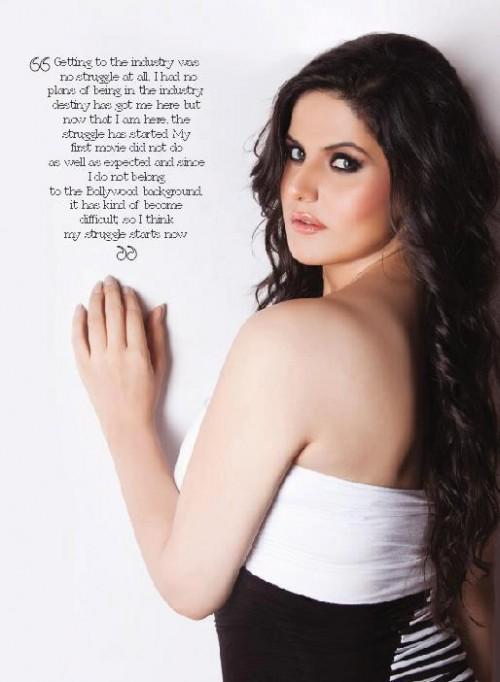 Hot Zarine Khan on FHM Magazine November 2015 04