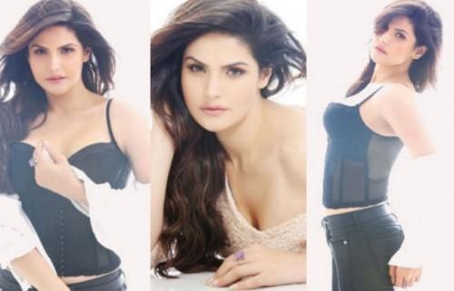 Hot Zarine Khan on FHM Magazine November 2015 02