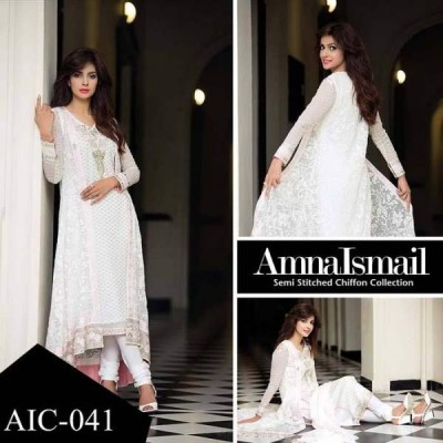 Amna Ismail Women Chiffon Collection 2016