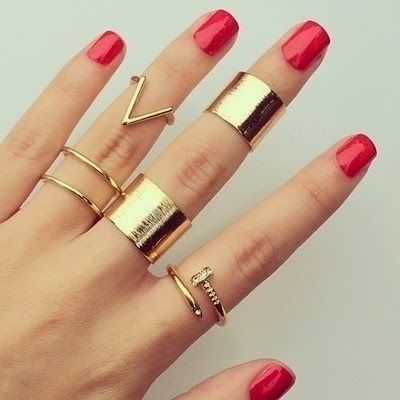 Artificial Girls Cuff Rings 2016 Collections