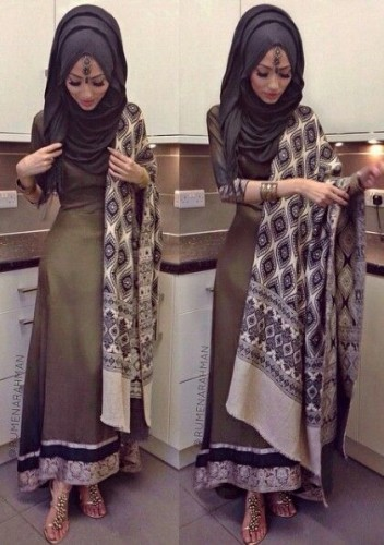 Excellent And Formal Hijab Styles 2016 Fashion 2017