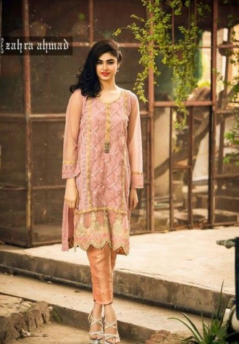 Zahra Ahmad Party Dresses 2018