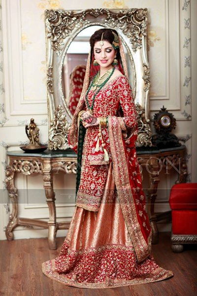 Red Bridal Lehengas Trends 2016 For Women