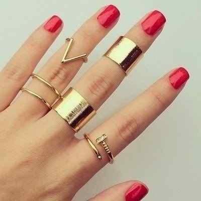 Girls Artificial Rings 2016
