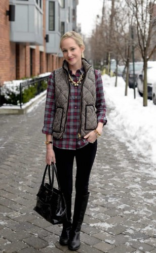 woman winter fashion collection