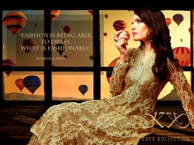 Trend of Ladies Fancy Dresses 2016 in Pakistan