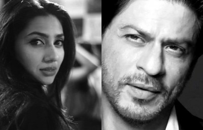 Mahira Khan & Shahrukh Khan