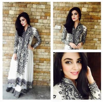 Maya Ali Looks in Nomi Ansari Outfits