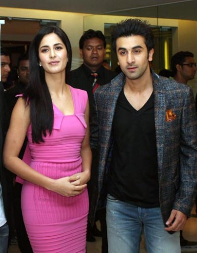 Katrina Kaif And Ranbir Kapoor's Picture