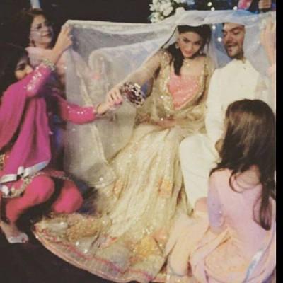 Sanam Jung's Wedding Pictures