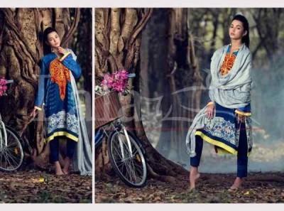 Lala Textile Women Vintage Shawls Collection 2016