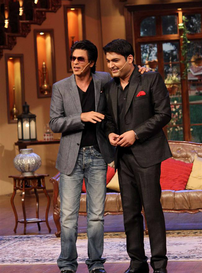 SRK and Kapil Sharma will host next Filmfare Award 2016