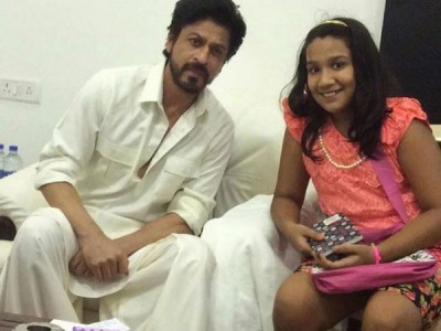 Shah Rukh Khan with Fan