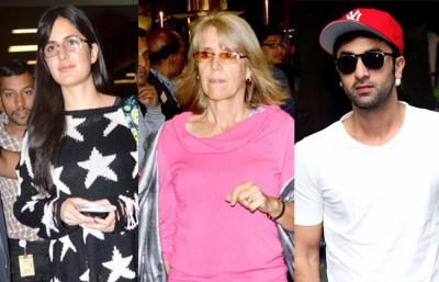 Ranbir Kapoor, Katrina and Her Mother