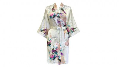 Old Shanghai Women's Kimono Short Robe