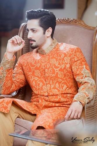 HSY Winter Wedding Menswear Sherwani 2016-17 Collection