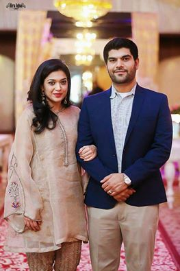 Sanam-Jung with Her Husband