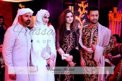 Atif Aslam & Sara Bhawana