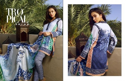 Saira Rizwan Lawn Dresses 2016 For Women
