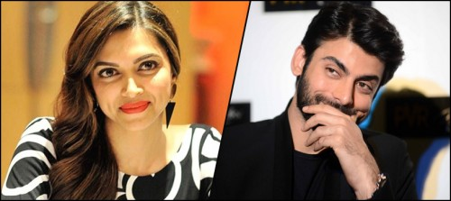 Fawad Khan and deepika