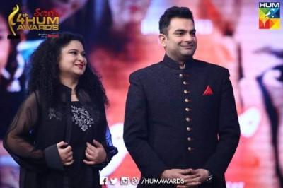 Graceful Celebrities at Hum Tv Awards