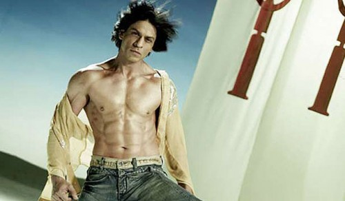 Shah Rukh Khan Shirtless