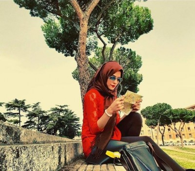 Arij Fatima is having fun in Italy