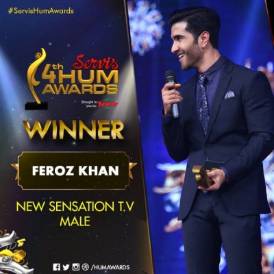 Best New Sensation Television – Male Award Goes To Feroz Khan