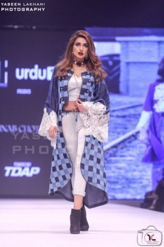 Iman Ali walked on Ramp at FPW16 Day 3