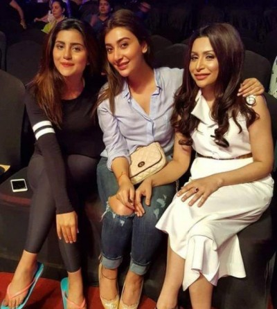 Pakistani Celebrities Busy in 4th HUM Awards 2016 Rehearsals in Dubai