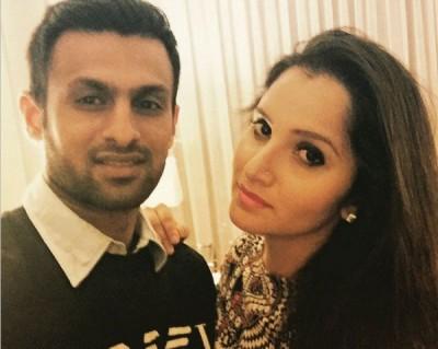 Shoaib and Sania