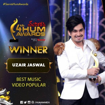 Best music video award goes to Yasir Jaswal for Sajna