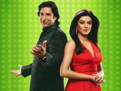 Wasim Akram & Sushmita Sen