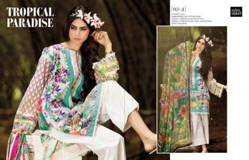 Zahra Women Lawn Dresses 2016