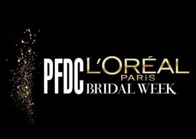 PFDC L`OREAL PARIS BRIDAL WEEK 2016