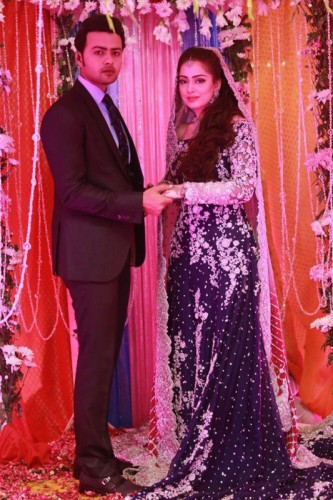 Ahmed Hassan and Nosheen Ibrahim Valima Pictures
