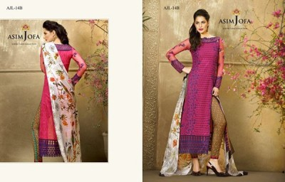 Pictures Of Asim Jofa Summer Dresses 2016