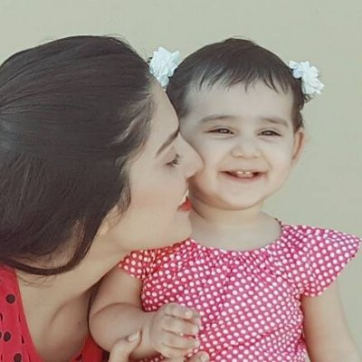 Ayeza Khan is here with her beautiful daughter Hoorain Taimoor.