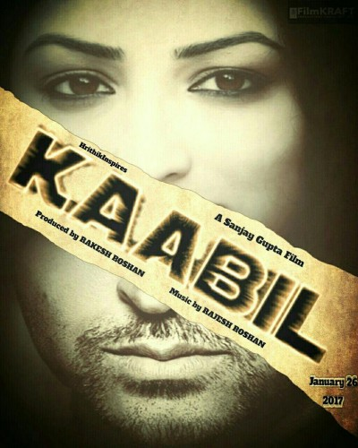 "First Look Poster Film ""Kaabil"""
