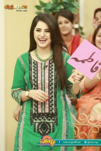 Fatima Effendi with Her Mother and Sister in Morning Show 'Satrungi'