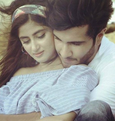 Sajal Ali and Feroze Khan Romantic Photoshoot