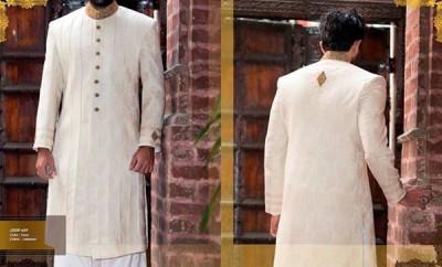 Junaid Jamshed Men Sherwani Collection 2016