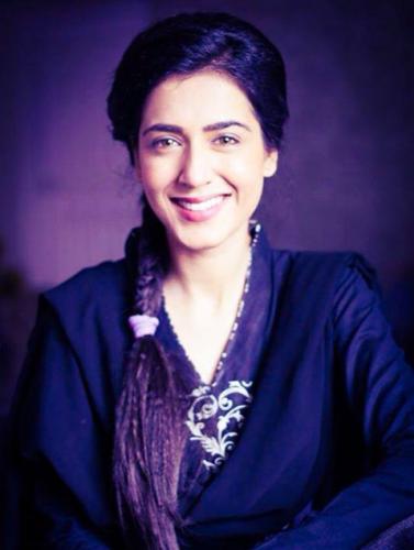 Actress Mansha Pasha Nose Surgery